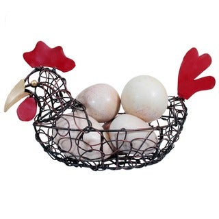 Handmade Chicken Wire Bowl (Indonesia)