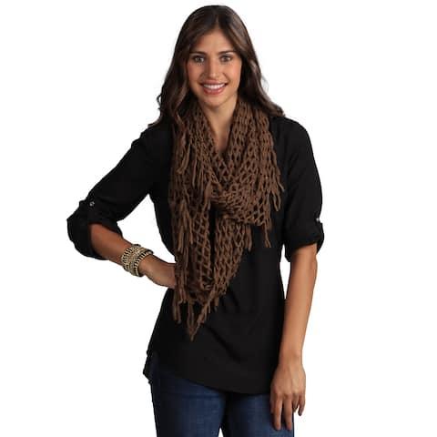 Saro Women's Infinity Knitted Scarf
