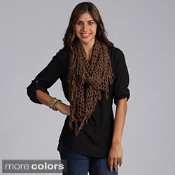 Saro Women's Infinity Knitted Scarf