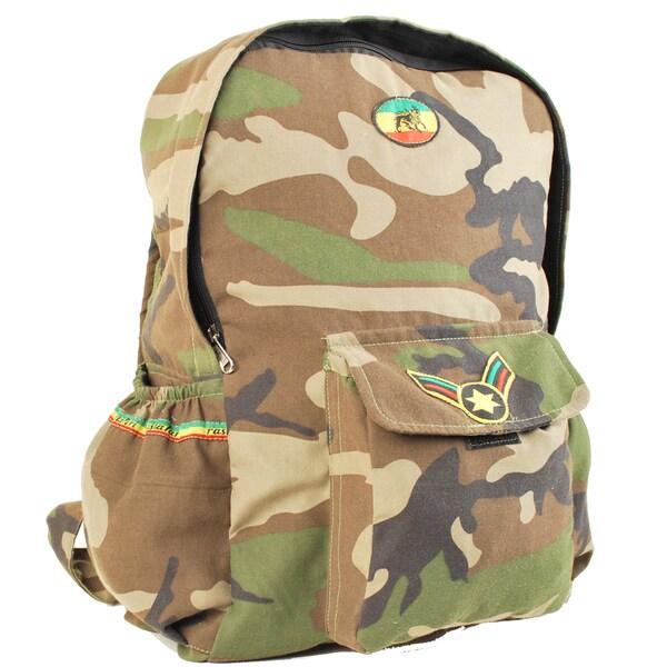 Rasta Army Backpack (Nepal)