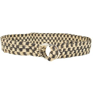Handmade Checkers Hemp Belt (Nepal)