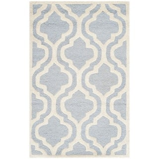 "Safavieh Handmade Cambridge Moroccan Light Blue Wool Oriental Rug (2'6"" x 4')"