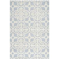 Safavieh Handmade Cambridge Moroccan Light Blue Wool Oriental Rug - 3' x 5'