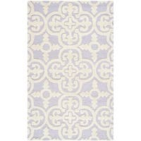 Safavieh Handmade Cambridge Moroccan Lavander Wool Borderless Rug - 2' x 3'