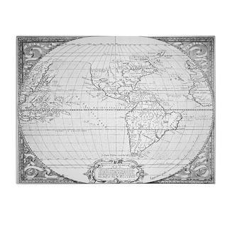 Richard Hakluyt 'Map of the New World, 1587' Canvas Art