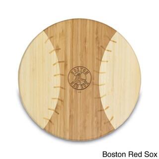 Picnic Time Homerun MLB American League 12-inch Baseball-shaped Cutting Board