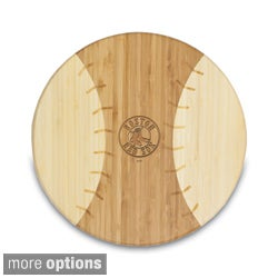 Picnic Time Homerun MLB American League 12-inch Baseball-shaped Cutting Board