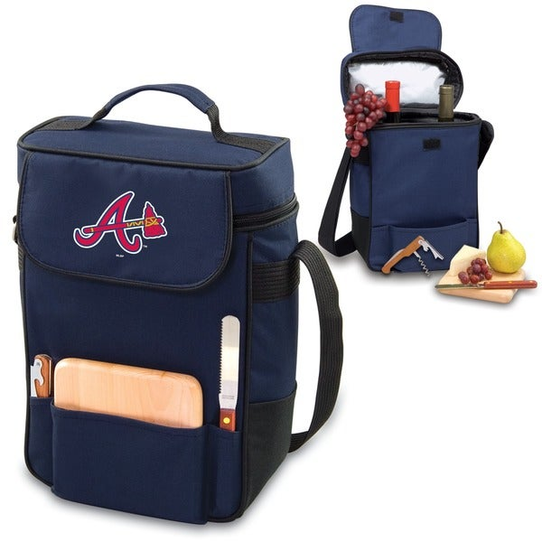 MLB 'Duet' Two-bottle Wine and Cheese Cooler Tote