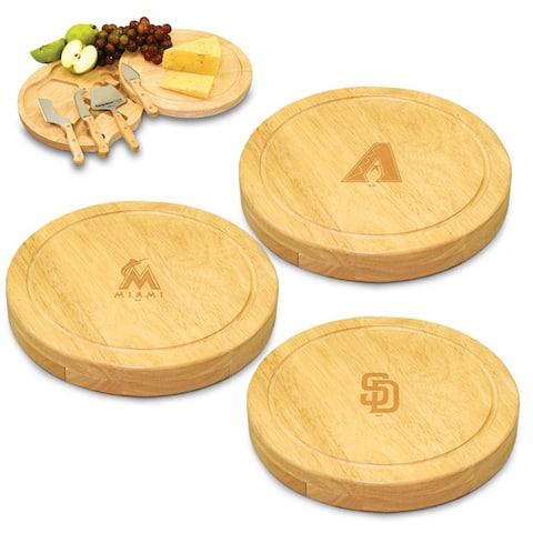 Circo MLB National League Cheese Board Set