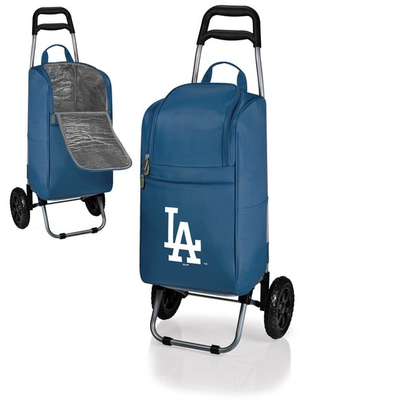 MLB 15-Quart Polyester/Steel Insulated Cooler with Folding Trolley