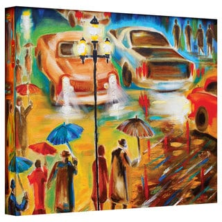 Susi Franco 'In Italy Even Rain is Beautiful' Gallery-Wrapped Canvas