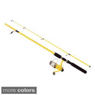 Okuma Fin Chaser B Series 2-piece Spin Fishing Combo