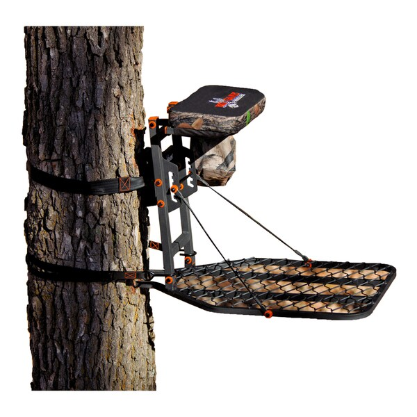 Big game treestands platinum collection phoenix hang on stand