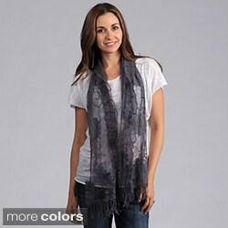 Saro Women's Ruffle Lace Scarf