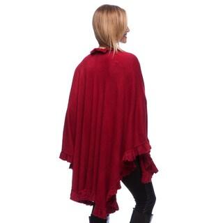 Saro Women's Long Ruffled Wrap
