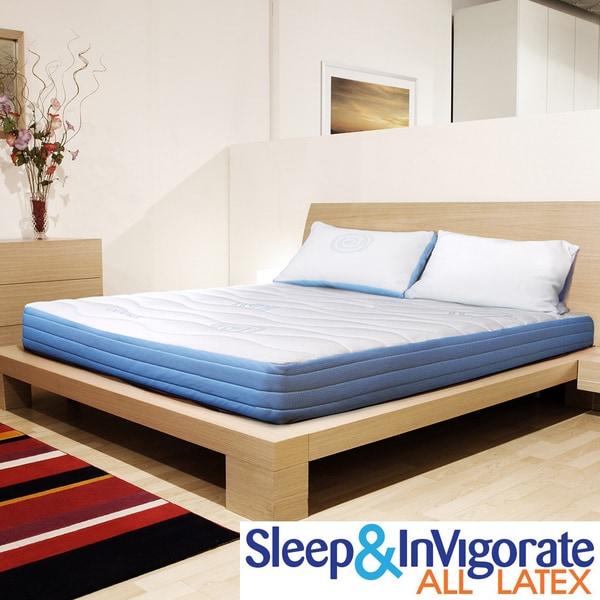 Sleep & Invigorate 8-inch King-size All Latex Mattress