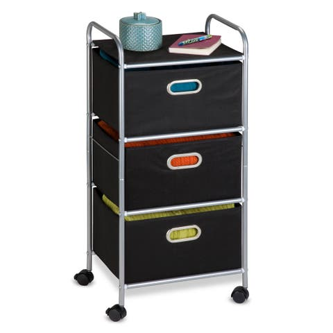 Honey-Can-Do Fabric Storage Cart