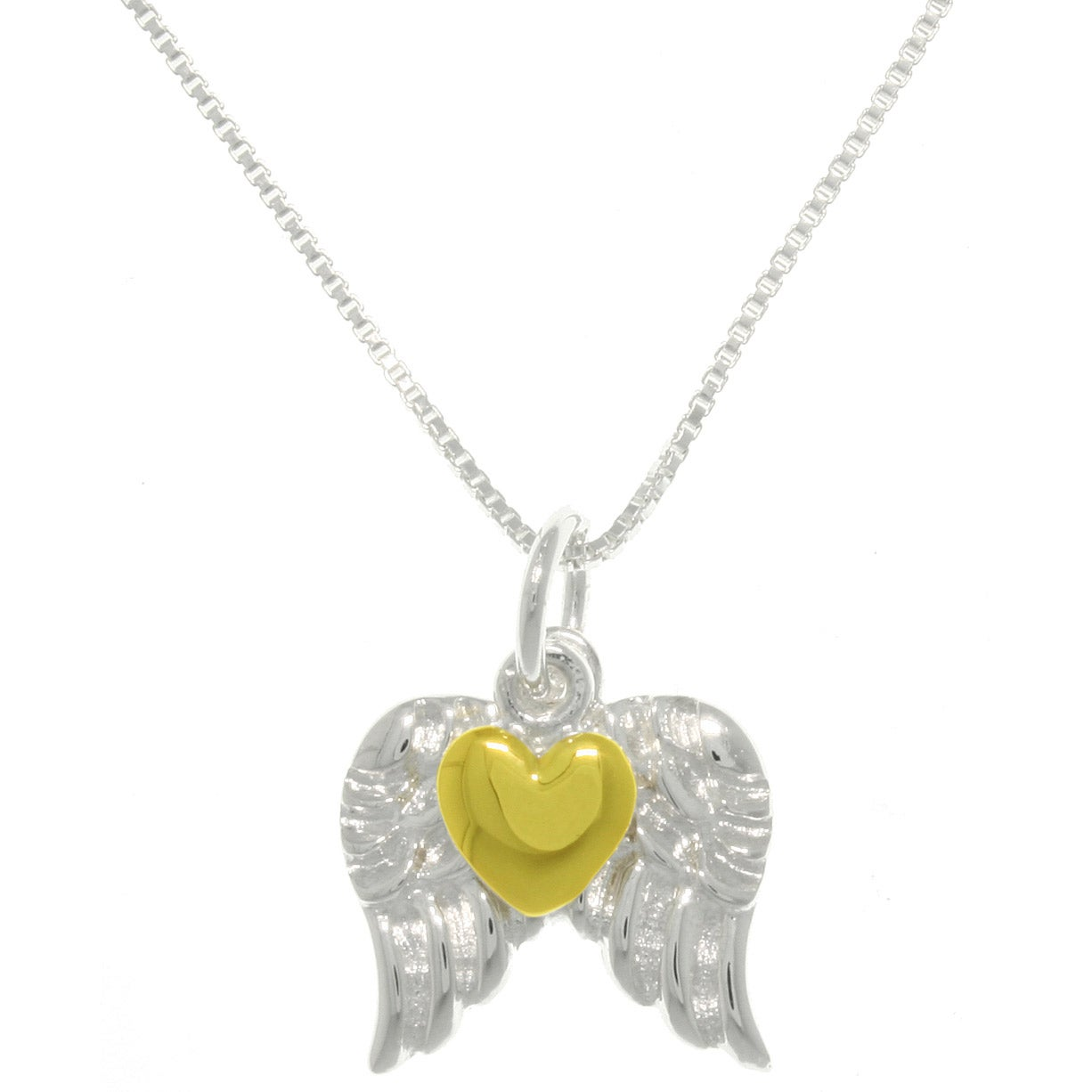 Carolina Glamour Collection Sterling Silver Heart Of Gold...