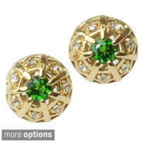 Dallas Prince Gemstone and White Sapphire Earrings