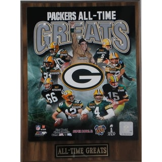Green Bay Packers 'All Time Greats' Plaque