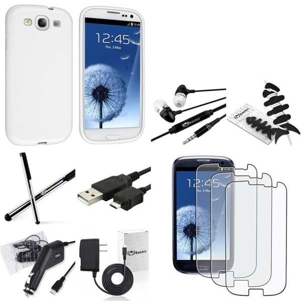 Case/ Screen Protector/ Wrap/ Headset for Samsung© Galaxy SIII/ S3