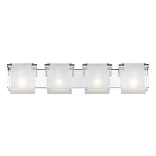 Zephyr 4-light Chrome Wall Sconce