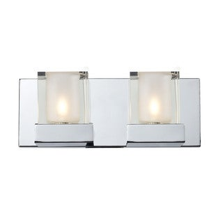 Aster 2-light Polished Chrome Vanity
