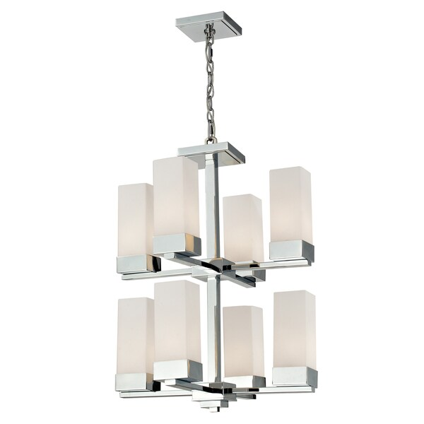 Sapphire 5-light Polished Chrome Chandelier