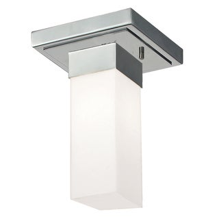 Sapphire 1-light Polished Chrome Flush Mount