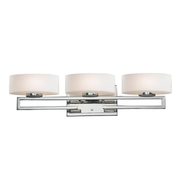 Cetynia 3-light Chrome Vanity