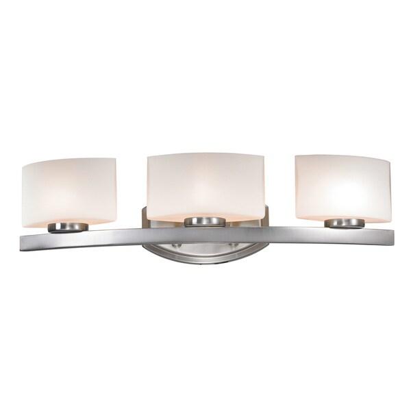 Galati 3-light Brushed Nickel Fixture