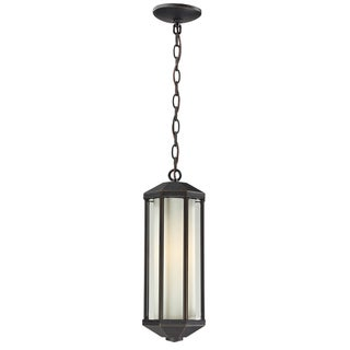 Cylex Oil Rubbed Bronze Outdoor 1-light Chain Fixture