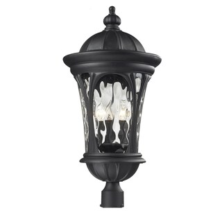 Doma 5-light Black Outdoor Wall Fixture