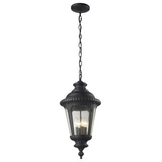 Medow 4-light Black Hanging Lantern
