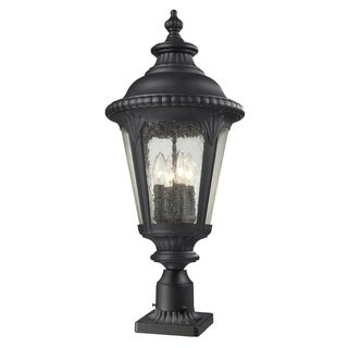Medow 4-light Black Lantern
