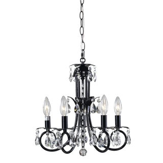 Pearl Black 5-light Chandelier
