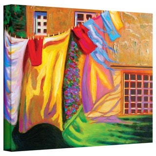 Susi Franco 'French Laundy' Gallery-Wrapped Canvas