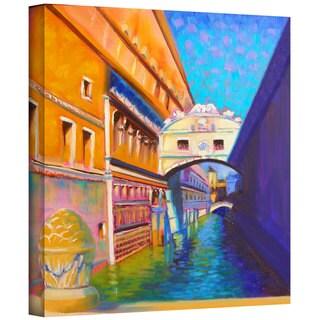 Susi Franco 'Venezia Ponte di Sospiri' Gallery-Wrapped Canvas
