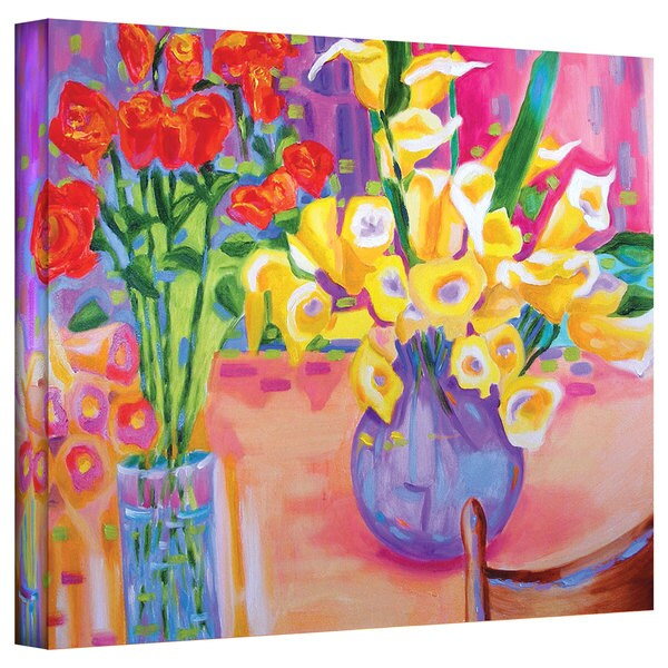 Shop Susi Franco Summer Flowers Gallery Wrapped Canvas