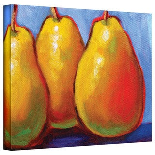 Susi Franco 'Gang of Pears' Gallery-Wrapped Canvas