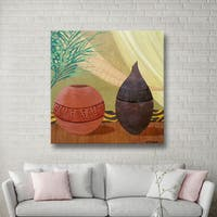 Herb Dickinson 'African Style' Gallery-Wrapped Canvas - Multi