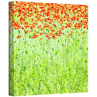 Herb Dickinson 'Spring Arabesque' Gallery-Wrapped Canvas