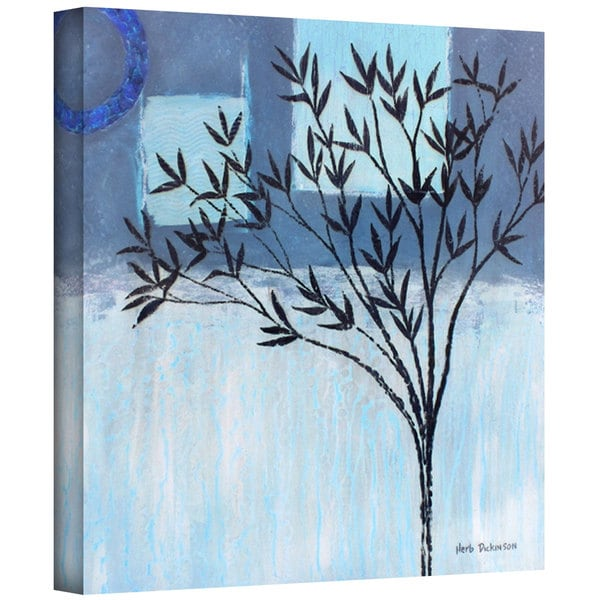 Herb Dickinson 'Ashley Day Blue' Gallery-Wrapped Canvas - Multi