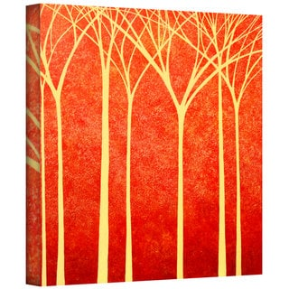 Herb Dickinson 'Contemplation' Gallery-Wrapped Canvas