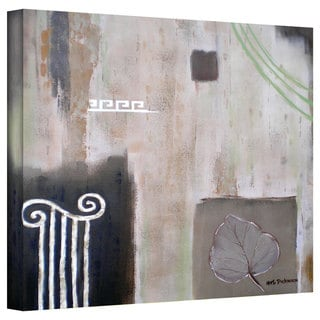 Herb Dickinson 'Greek Tribute I' Gallery-Wrapped Canvas