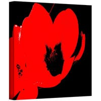 Herb Dickinson 'Hot Blooms II' Gallery-Wrapped Canvas - Multi