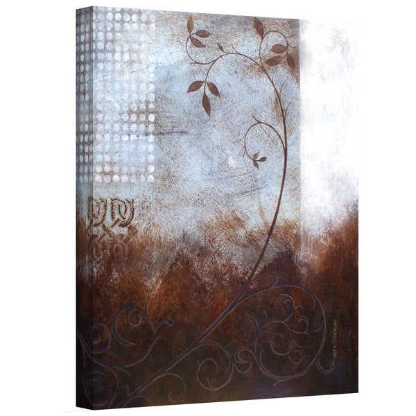 Herb Dickinson 'Splashy Umber II' Gallery-Wrapped Canvas