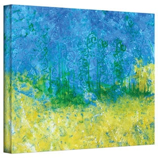 Herb Dickinson 'Tropical Waters' Gallery-Wrapped Canvas