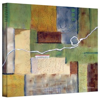 Herb Dickinson 'Weaving' Gallery-Wrapped Canvas