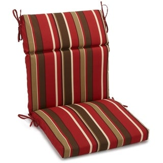 Blazing Needles Multicolored Print Outdoor Seat/Back Chair/Rocker Cushion